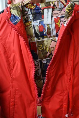 80DB-Jacke in Rot