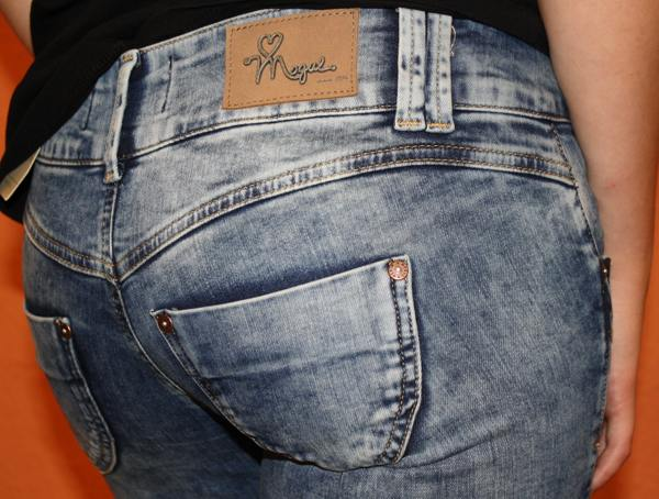 mogul Jeans mit auffälliger Waschung