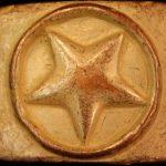 Stern als Gürtel-Schließe