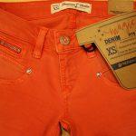 Colordenim in orange